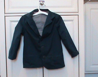 Boys Navy Blue Blazer