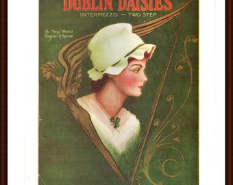 Dublin Daisies from the Book Memory Lane