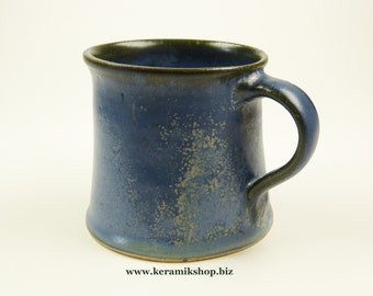 Ceramic Cup small effect-blue