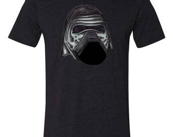 Star Wars Shirt - KYLO REN -  First Order - Sith - The Force Awakens - Dark Side - Unisex Adult T-Shirt - Star Wars Clothing - Tops and Tees