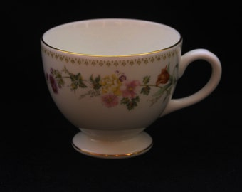 Pretty Wedgwood Mirabelle Bone China Tea Cup Replacement (Three available)