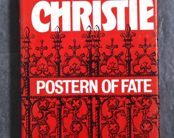 Vintage Antique Hardcover Book: Postern of Fate by Agatha Christie