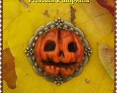 PF8 Priscilla  Pumpkins brooch