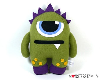 Monster Plush Toy Cute Plush Monster Stuffed Animal Personalized Plush Toy Monster Plushie Baby Plush Toy Gift for Kids Giht for Babies