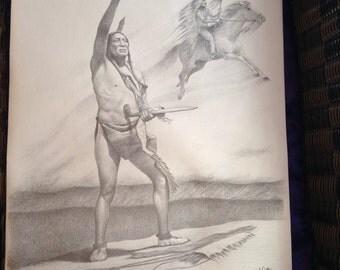 Original Artwork by Gil Ortega