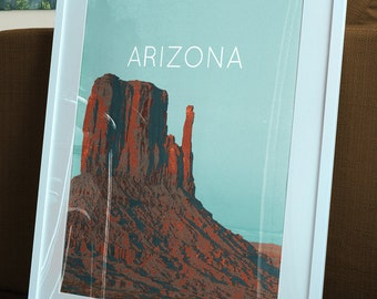 Arizona Monument Valley Poster 11x17 18x24 24x36