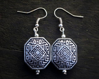 Silver Accent Earrings
