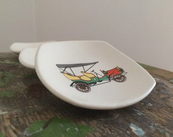 Lot of 3 ashtrays, year 50