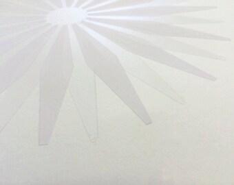 RADIATE - white on white