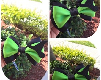 Wicked Witch hairbow