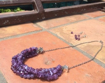 Purple Puka Shells