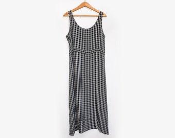 Sheer Chiffon Maxi Dress M