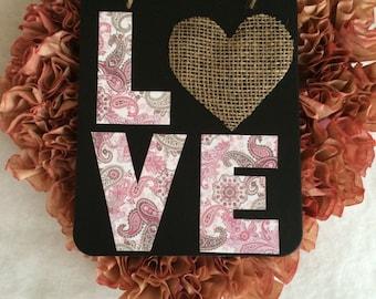 Valentine's Day wall decor