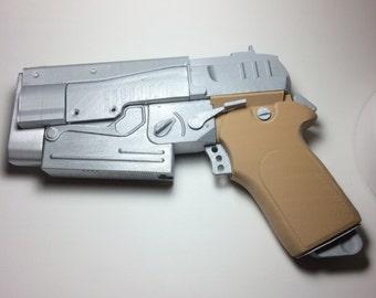 3D printed Fallout 4- 10mm Prop gun