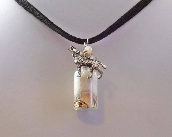 Wolf totem necklace - photo#49