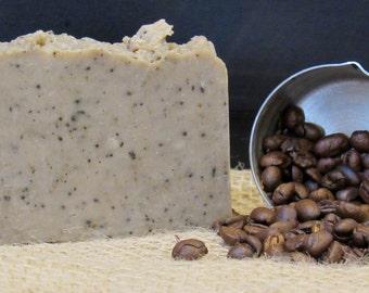 All-Natural Coffee Scrub Handmade Vegan Soap