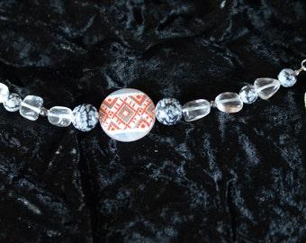Slavic folk bracelet