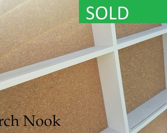 HUGE Cork Board, Wall Shelf, Shadow Box