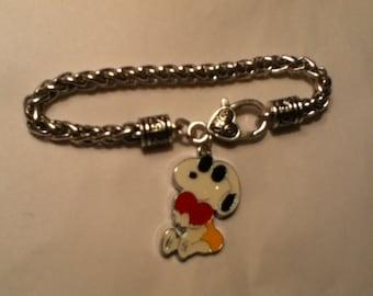 snoopy bracelet