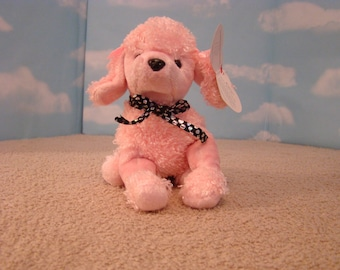 Brigitte the Pink Poodle Retired