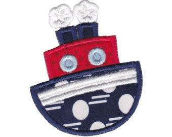 Set Sail Applique Design 11 Machine Embroidery Design 4x4 5x7 6x10