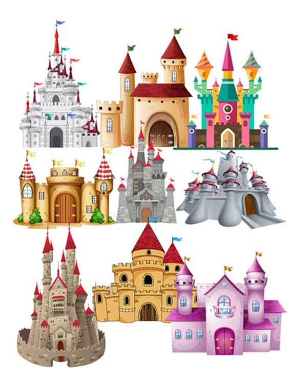 Castle image castle cutout 30 pack large cliparts full for Craft stores columbia sc