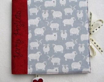 Knitting/Crochet/Yarn Project Notebook (Large)
