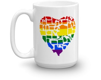 Gay Pride Love Wins Mug