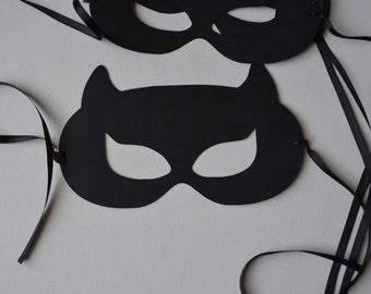 Bat girl Party Masks for Kids and Adults