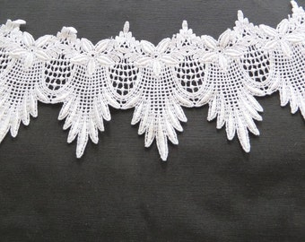 Scalloped  Venise Lace 4032, 4 inch wide