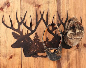 Primitive Hat Rack Etsy