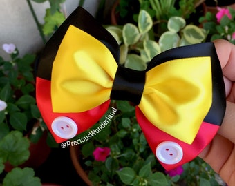 Mr Mouse Inspired Hair bow