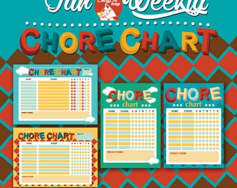 Fun Weekly Chore Chart