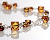 High Fashion Necklace ~ Natural Amber With Silver Chain Jewelry for Beach romantic Wedding ~ Wife Anniversary Doughter Birthday Armband Gift