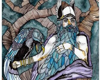 Odin Print 8x10 or 11x14