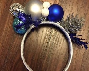 "CHRISTMAS Fascinator / Headband for ""Holiday parties!"""