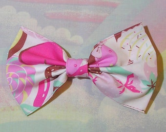 Sweet Lolita Hair Bow, Decora Hair Bow, Fairy Kei Hair Bow