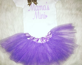 Mamas mini baby girl outfit