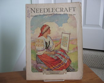 Needlecraft Magazine , October , 1930