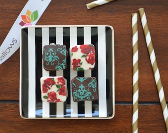 Set of 25 Party Favors - 3 Chocolate Covered Marshmallows Each
