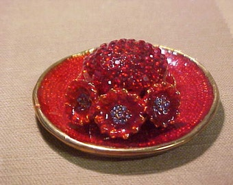 Red Hat Treasurer Box or Paper Weight neat and very different. Nice heavy piece.  FREE shipping in the USA