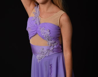 Custom costume, Lyrical Dance Costume. Team lyrical dance costume, Lyrical  Dance dress, Custom Dance Costume. dance costume for competion