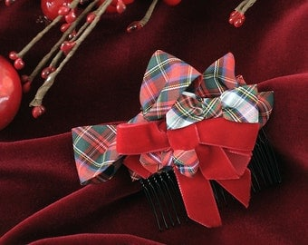 Red Haircomb Tartan