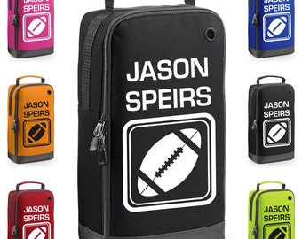 Personalised Rugby Boot Bag with Carry Handle  * Free Delivery * New for 2016