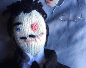 "Richard Harrow ""Boardwalk Empire"" Knit Amigurumi"