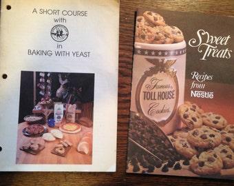 King Arthur Flour, Nestle Toll House RECIPE BOOKLETS