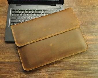 Leather MacBook Air Case, MacBook Air Sleeve, MacBook Air 11 Case, MacBook Air 11 Sleeve, 11 Inch MacBook Air Sleeve, Macbook 11.6 Sleeve