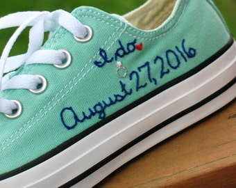 Custom Converse, Custom Chuck Taylors, Custom Bride Sneakers, Custom Wedding Shoes, Custom Chucks, Custom Keds, Custom Toms, Wedding shoes