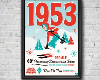 1953 Red Ale Poster