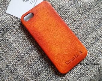 iPhone SE Leather, iPhone 5s Leather, iPhone SE case, iPhone 5s 5 'OldBritTan'